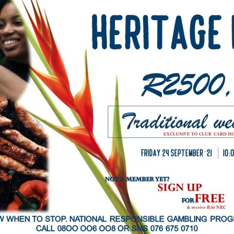Heritage day Promotion